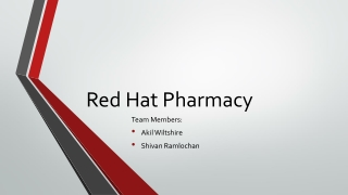 Red Hat Pharmacy