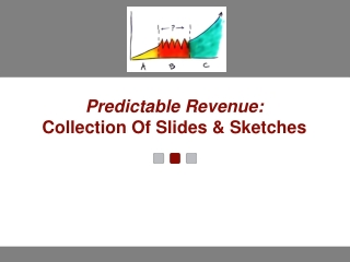 Predictable Revenue:  Collection Of Slides & Sketches