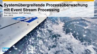Systemübergreifende Prozessüberwachung mit  Event Stream Processing