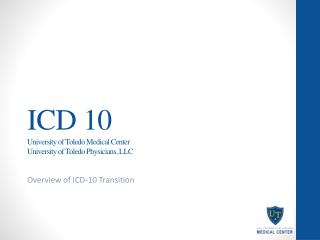 ICD 10 University of Toledo Medical Center University of Toledo Physicians, LLC