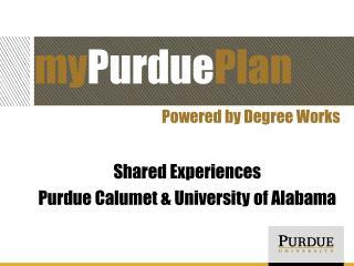my Purdue Plan