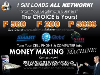 1 SIM LOADS  ALL NETWORK!