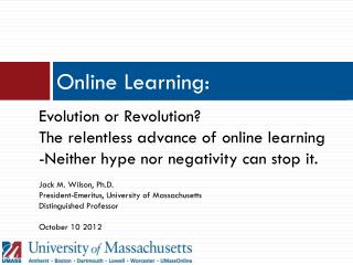 Online Learning:
