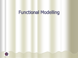 Functional  Modelling