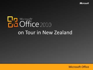 on Tour in New Zealand