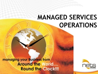 MANAGED SERVICES OPERATIONS