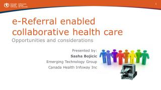 e-Referral enabled  collaborative health care