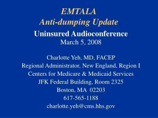 emtala anti-dumping update
