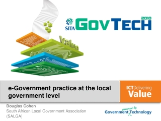 e-Government practice at the local government level