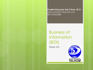 Business of Information (BOI)