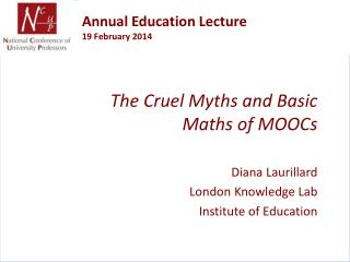 Annual Education Lecture 19 February 2014