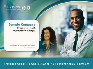 Sample Company Integrated Health Management Analysis