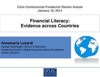 Financial Literacy:  Evidence  a cross Countries