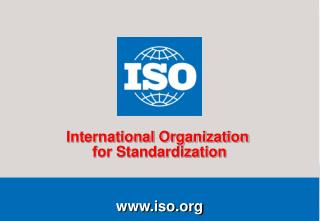 overview of iso 9001 and iso 14001 by roger frost e-mail frostiso manager, communication services 2009-01-08