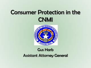 Consumer Protection in the CNMI