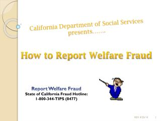 California Department of Social Services presents��.