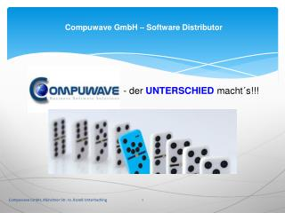 Compuwave GmbH – Software Distributor