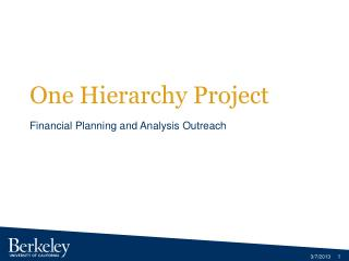 One Hierarchy Project