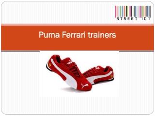Puma Ferrari trainers