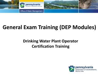 General Exam Training (DEP Modules)