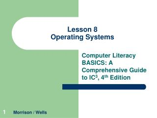 Lesson 8 Operating Systems