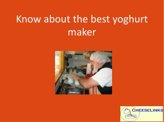 Voted most popular new Yoghurt Maker