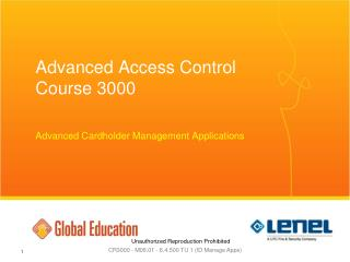 Advanced Access Control Course 3000