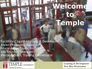 Welcome  to Temple
