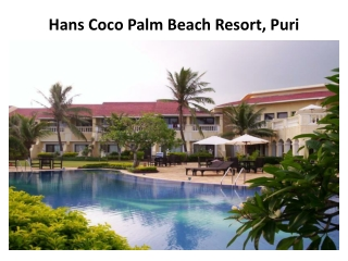 Book Hans Coco Palm Beach Resort in Puri