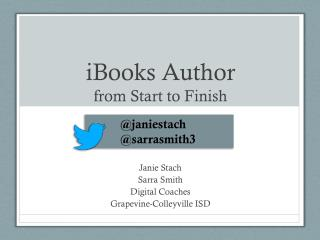 iBooks  Author  from Start to Finish