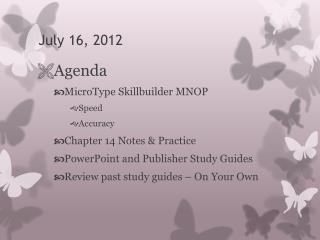 July 16, 2012