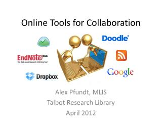 Online Tools for Collaboration