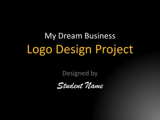 My Dream Business Logo Design Project
