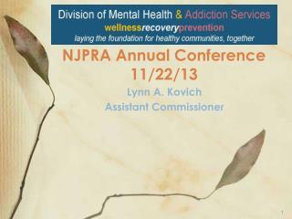 NJPRA Annual Conference 11/22/13