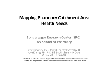 Mapping Pharmacy Catchment Area Health Needs