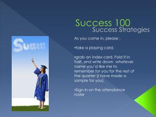 Success 100