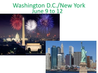 Washington D.C./New York