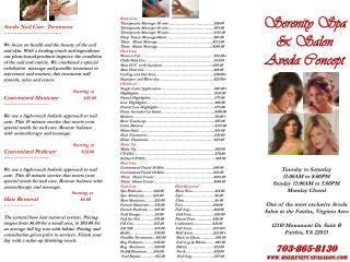 Aveda Nail Care  Treatment ~~~~~~~~~~~~~~~~~~