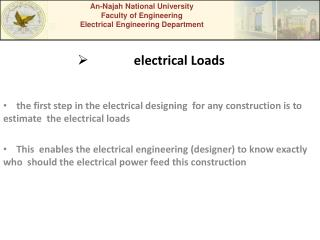 electrical Loads