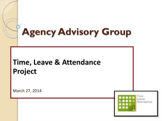 Agency Advisory Group