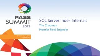 SQL Server Index Internals