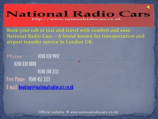 Airport Transfer London | Cheap Taxis And Minicab Services