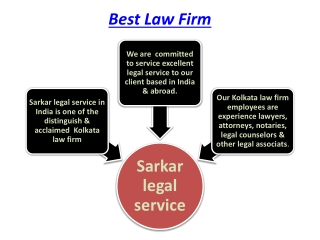 Best Law Firm in Kolkata