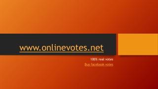 buy facebook contest votes