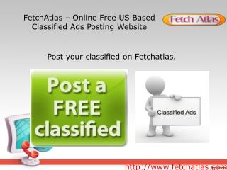 free job classified