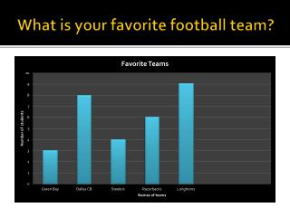 What is your favorite football team?