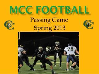 MCC Football