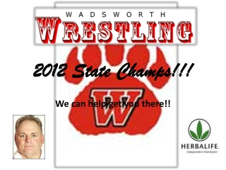 2012 State Champs!!!