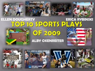 Top 10 sports plays of 2009