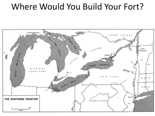 Where Would You Build Your Fort?